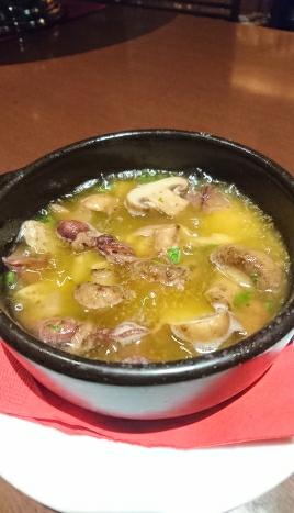 ホタルイカと筍とマッシュルームのアヒージョ